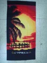 branded beach towel