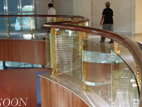 Stainless Steel Glass Railing
