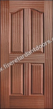 4 PANEL VENEER MOULDED DOOR
