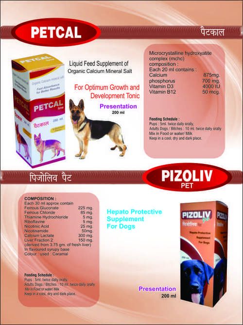 Animal Feed and Animal Food Supplements