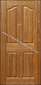 4 Panel Veneer Moulded Doors