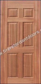 6 PANEL VENEER MOULDED DOOR