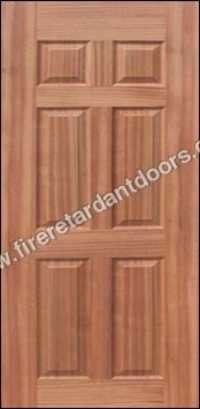 6 PANEL VENEER MOULDED DOOR