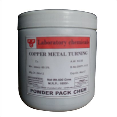 Copper Metal Turning Cas No: 10102-17-7
