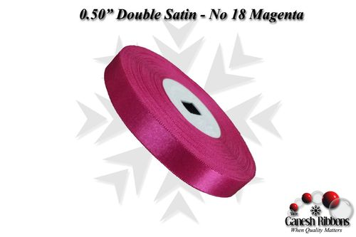 Double Face Satin - Magenta