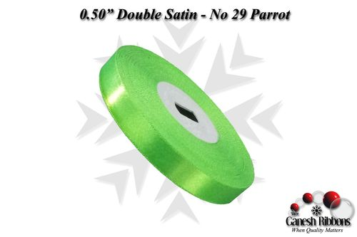 Double Face Satin - Parrot
