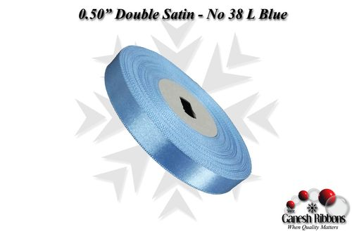 Double Face Satin - L Blue