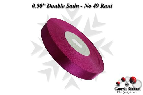 Double Face Satin - Rani