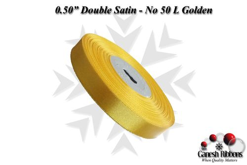 Double Face Satin - L Golden