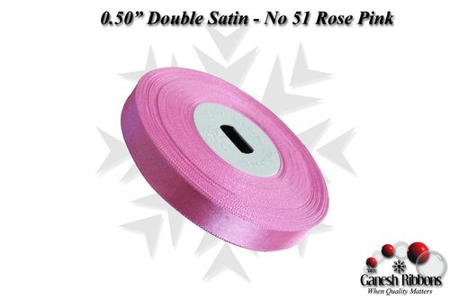 Double Face Satin - Rose Pink