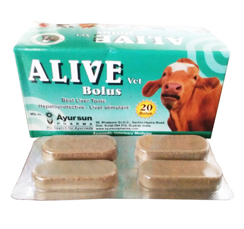 Veterinary Liver Tonic-Alive Bolus