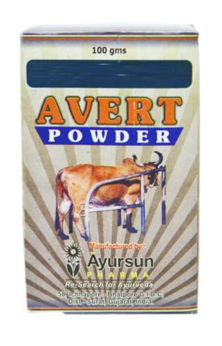 Avert powder (vet.-Reduce Post Partum Proleps)