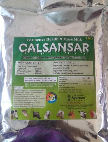 Ayurvedic herbal veterinary medicine CALSANSAR