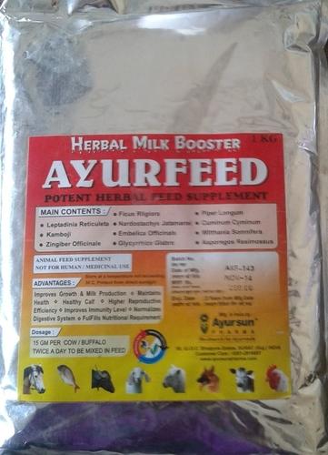 Ayurvedic Ayurfeed Powder (Performance Enhancer(Veterinary))