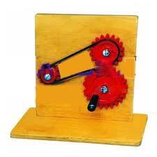 Train Of Gear Wheels