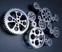 Inter Connected Gears