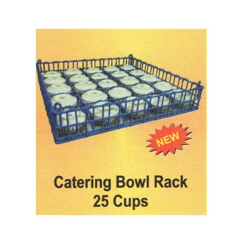 25 Cups Catering Bowl Rack