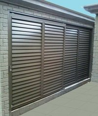 Sliding Aluminium Louvers Windows