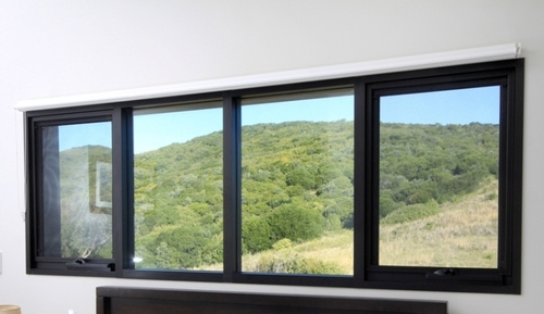 Four Track Glass Windows