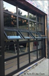 45 MM ALUMINIUM CASMENT OPENABLE WINDOWS