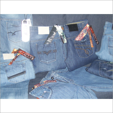 Acid Washed Denim Jeans