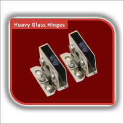 Heavy Glass Hinge