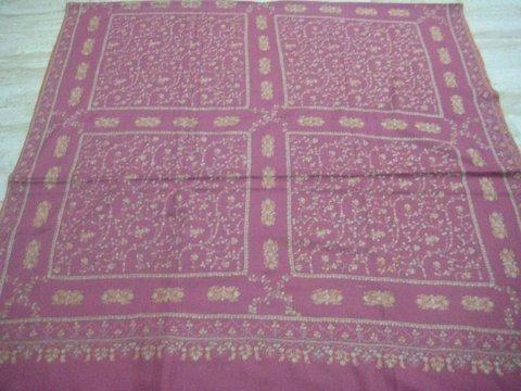 handwooven handmade neem jama 100% pashmina shawl