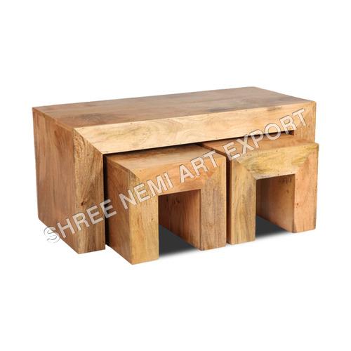Cube Furniture Mango Stool Set
