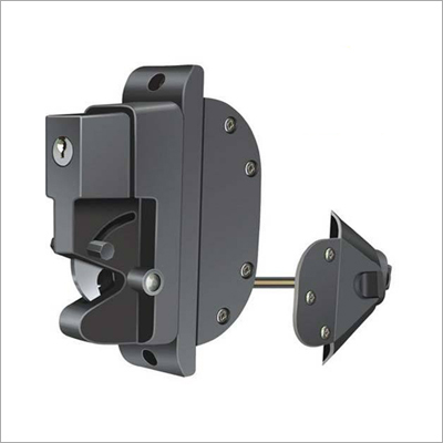Dual Guard Gate Lock