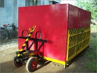 Heavy Duty Wheels Trolley