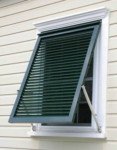Casment louvers Windows