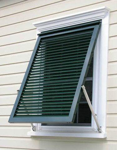 Casment louvers Windows