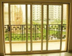 Anodized Sliding Windows