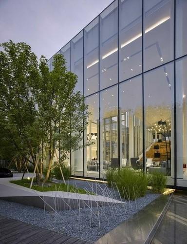 Curtain Wall Glazing Semiunitize System