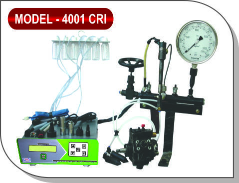 D.D.B.S. Manual Injector Tester System