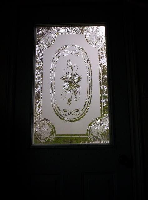 Decorative Door Glass Designs