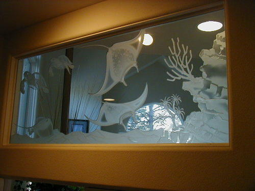 Stylish Theme Glass Wall Partitions