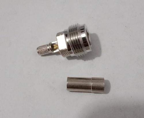 n female crimp connector for LMR 200 cable