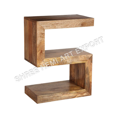 Cube Furniture Mango Wood Cube
