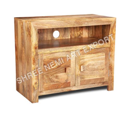 Cube Furniture Mango Wood TV Stand