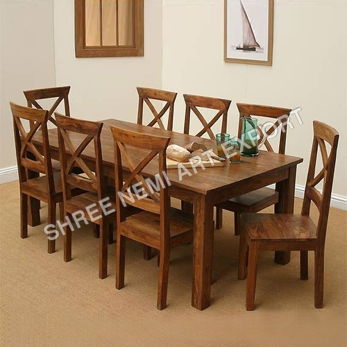 8 Seater Square Dining Table