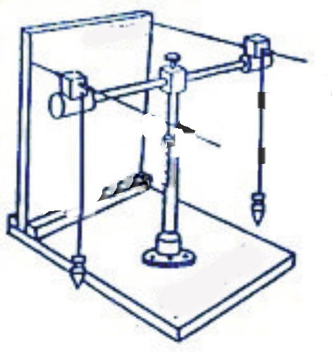 Projection of Straight Line Apparatus
