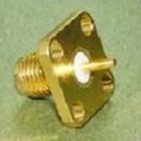 SMA female 4 hole connector