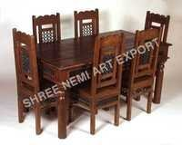 Jali Range Furniture-Dining Table with jali