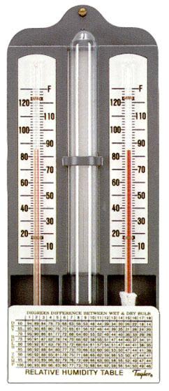 Wet & Dry Bulb Hydrometer