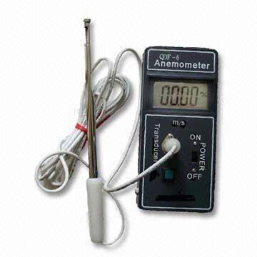 Anemometer With Digital Display