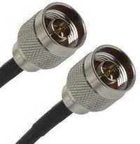 N female to N female rg213 cable