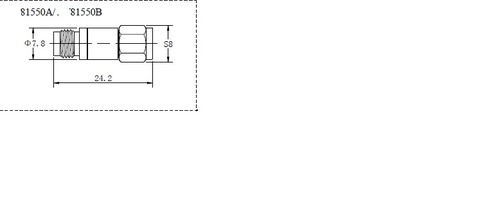 Fixed Attenuators  1.85 mm 81550a