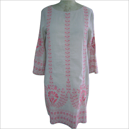 Embroidered Cotton Kaftans