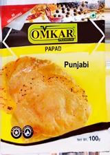 Omkar Punjabi Masala Papad